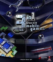 3 in 1 classic mobile games, /, 176x208