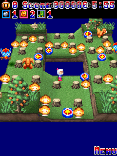 Bomberman ipod,mobile,3ds, screenshot 2